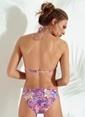 Morhipo Beach Şal Desenli Bikini Takımı Lila